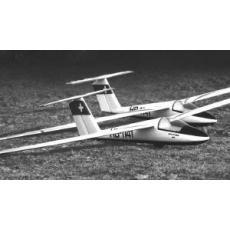 Pilatus- B4,  Spannweite 375cm