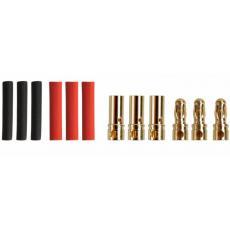 3,5mm Goldverbinder -- 3 Paar