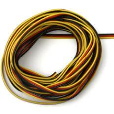 Flaches PVC - Kabel, lose von Rolle - 0,25qmm