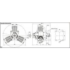 SAITO FG 60R3  -- 60,0 ccm