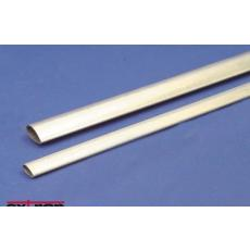 Alu Tropfenprofil Rohr 5,3 x 10mm