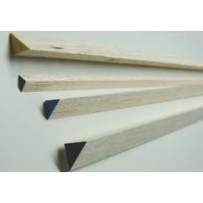 Balsa-Dreikantleiste -- 10 x 10 mm