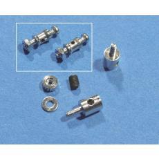 Gestängekupplung für 0,5 - 1mm Draht