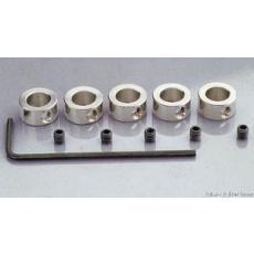 Stellringe für Radachsen -- 4 mm