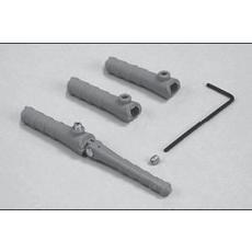 Hülsen für Stiftscharniere -- 3 mm