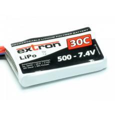 Extron Lipo X2 -- 7,4V  --- 500 mAh