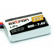 Extron Lipo X2 -- 7,4V  --- 800 mAh