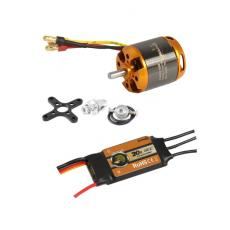 Brushless Set AL2835-10 + 20A Regler
