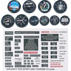 Cockpit Instrumente Motor  M: 1:3