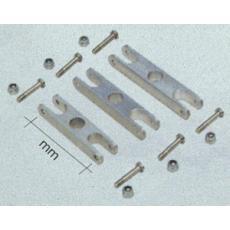 Alu-Mittelstück -- 38 mm -- 6 mm--